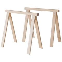Arkitecture Trestele Leg Pair in Birch by Kari Virtanen