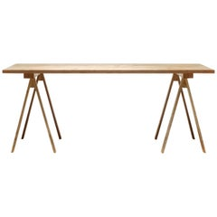 Arkitecture Trestle Leg Table in Birch by Kari Virtanen