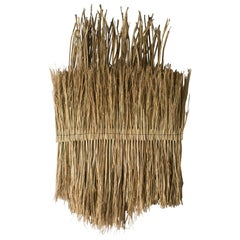 Arko Wall Art1 Primitive Tribal Style, Contemporary Art Craft Rice Straw
