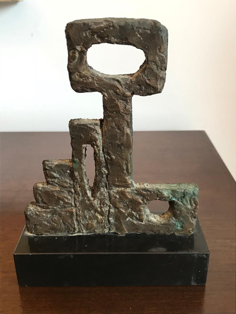 American Arline Wingate Small Bronze Sculpture For Sale