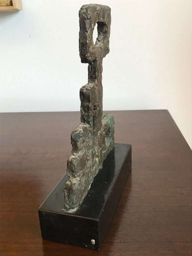 20th Century Arline Wingate Small Bronze Sculpture For Sale