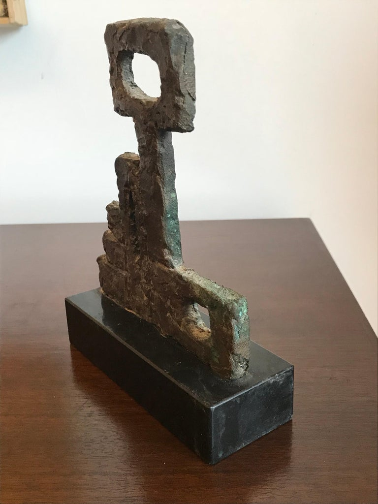 Arline Wingate Small Bronze Sculpture For Sale 1