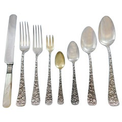 Arlington by Towle Sterling Silver Flatware Set for 12 Dinner Service 101 Pieces