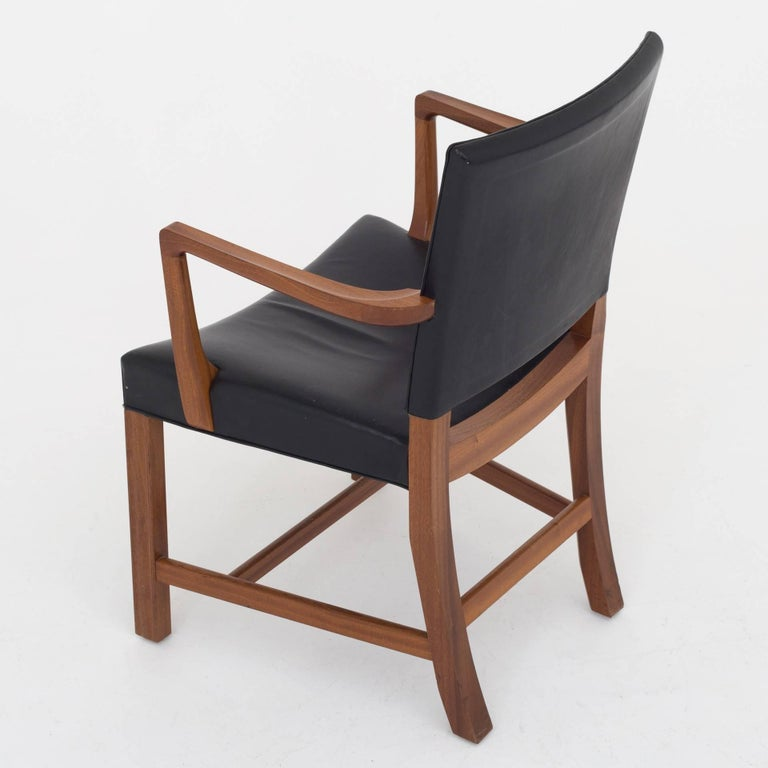 Danish Set of 6 armchairs by Kaare Klint For Sale
