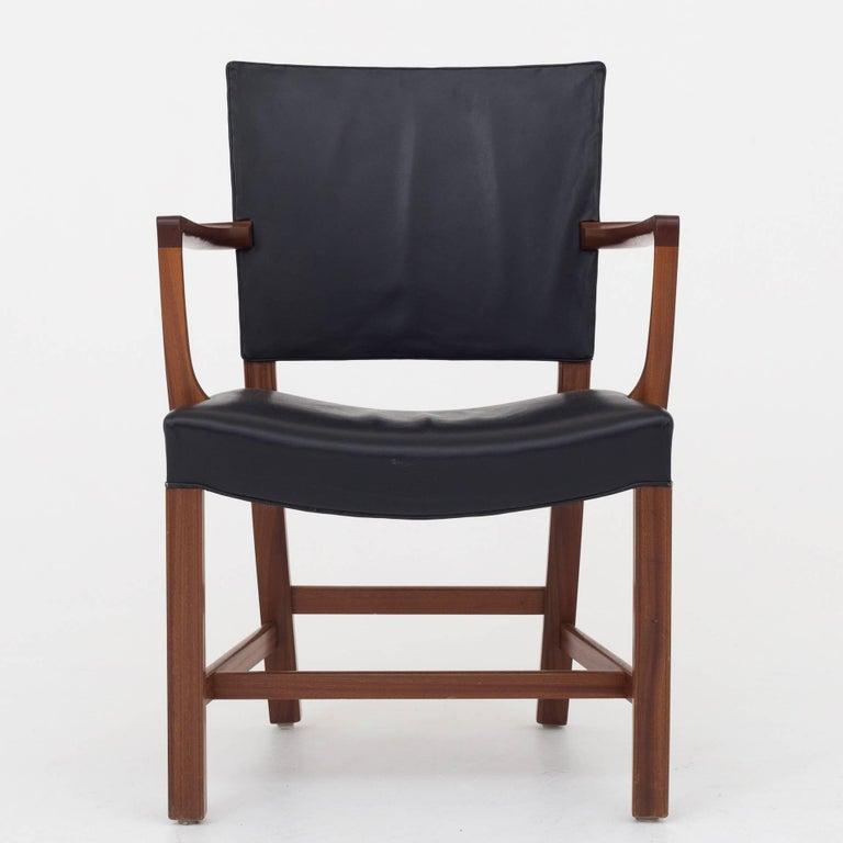 Set of 6 armchairs by Kaare Klint In Good Condition For Sale In Copenhagen, DK