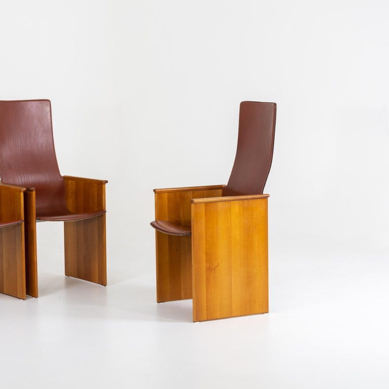 Arm Chairs by Afra and Tobia Scarpa, 1960s In Good Condition In Greding, DE