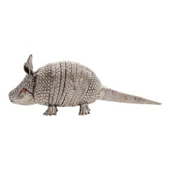 Armadillo Sterling Silver Lighter