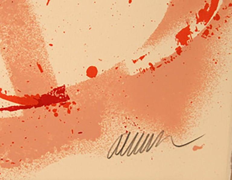 Music with a Flair, Pop Art Silkscreen by Arman For Sale 1