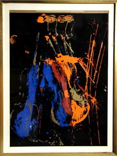 Night Orchestra, Pop Art Serigraph by Arman