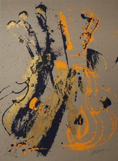 Sans Titre I, Pop Art Serigraph by Arman