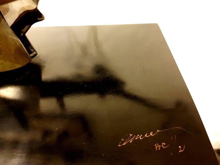 Arman - Rare Signed Violin Bronze Sculpture For Sale 2