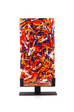 Arman - Accumulation, Tee - Original Signed Sculpture