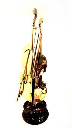 Arman - Bronze Sculpture - Pizzaiola Violin