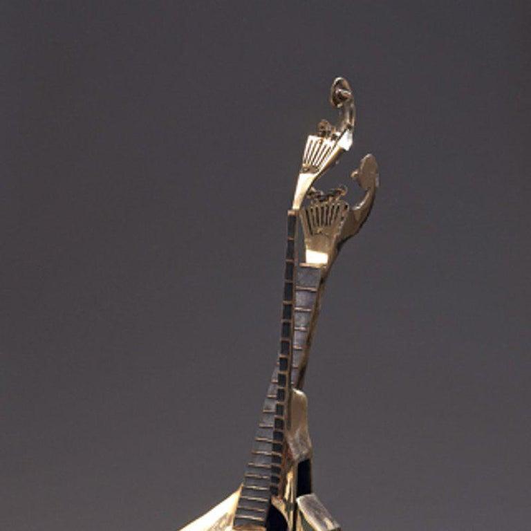 Arman - Bronze Sculpture - Portuguese Guitar For Sale 2