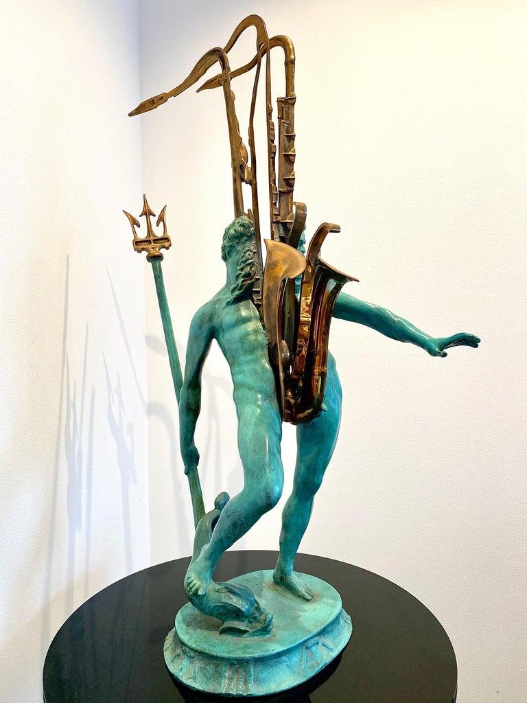 Macho de l'aqua  - Contemporary Sculpture by Arman