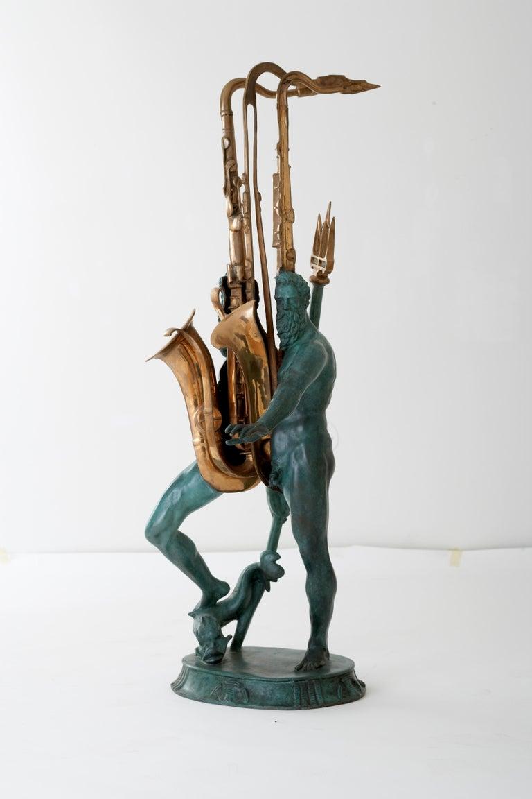 Macho de l'aqua  - Sculpture by Arman