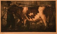 Le Vacher ( The Herdsman ) by Coussens