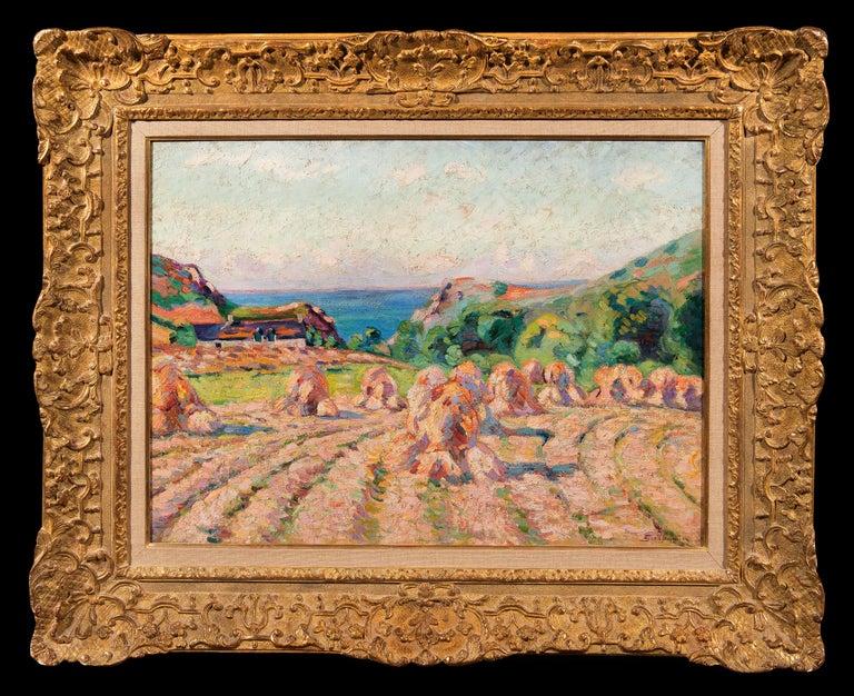 Armand Guillaumin Landscape Painting - Haystacks, 1907