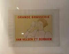 """Grande Brasserie Van Velsen"" from ""Les Maitres de L'Affiche"" series"