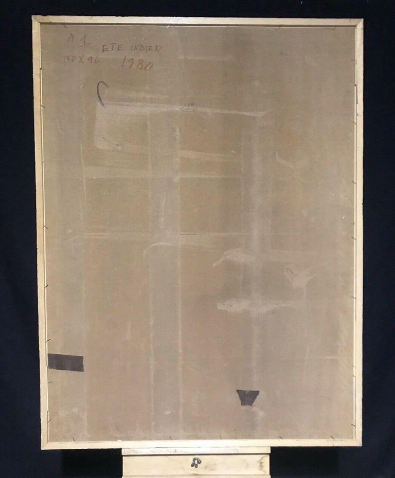 ARMAND ROTTENBERG (1903-2000) LARGE FRENCH EXPRESSIONIST ABSTRACT OIL For Sale 3