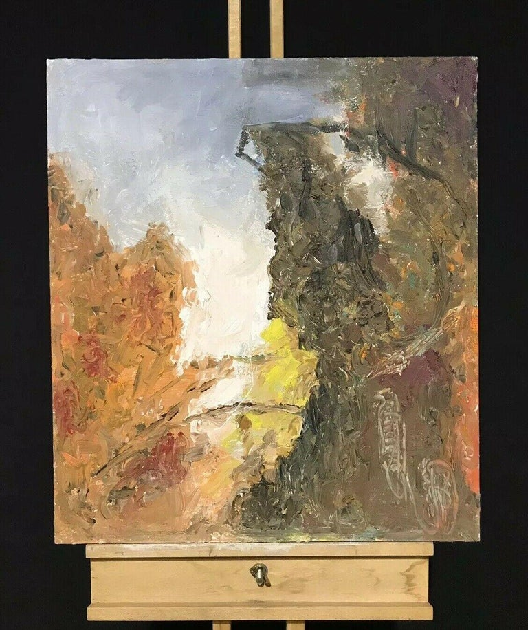 ARMAND ROTTENBERG (1903-2000) LARGE FRENCH EXPRESSIONIST OIL PAINTING - Abstract Expressionist Painting by Armand Rottenberg