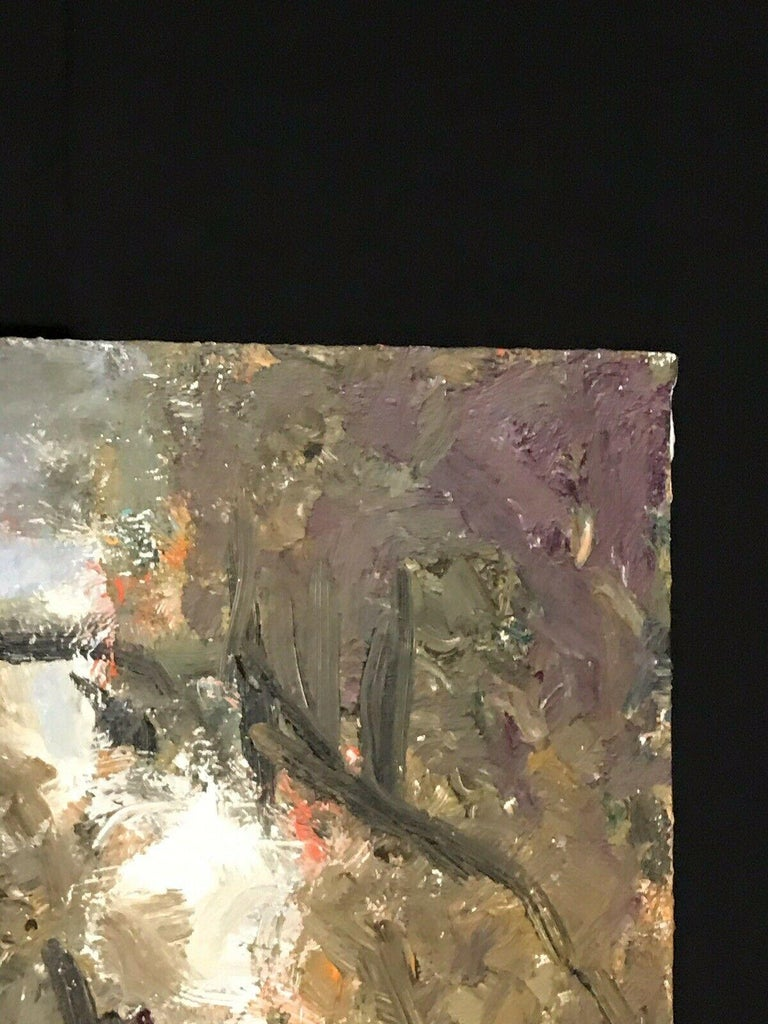 ARMAND ROTTENBERG (1903-2000) LARGE FRENCH EXPRESSIONIST OIL PAINTING For Sale 4