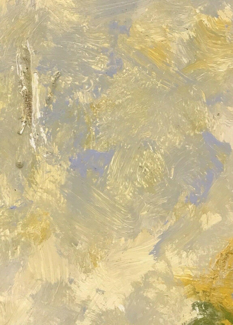 ARMAND ROTTENBERG (1903-2000) LARGE SIGNED FRENCH EXPRESSIONIST ABSTRACT OIL For Sale 1