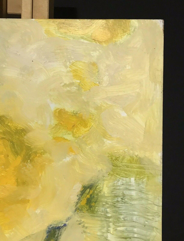 ARMAND ROTTENBERG (1903-2000) LARGE SIGNED FRENCH EXPRESSIONIST ABSTRACT OIL For Sale 2