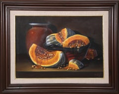 """""""Calabazas"""" Oil Painting, 1995"""