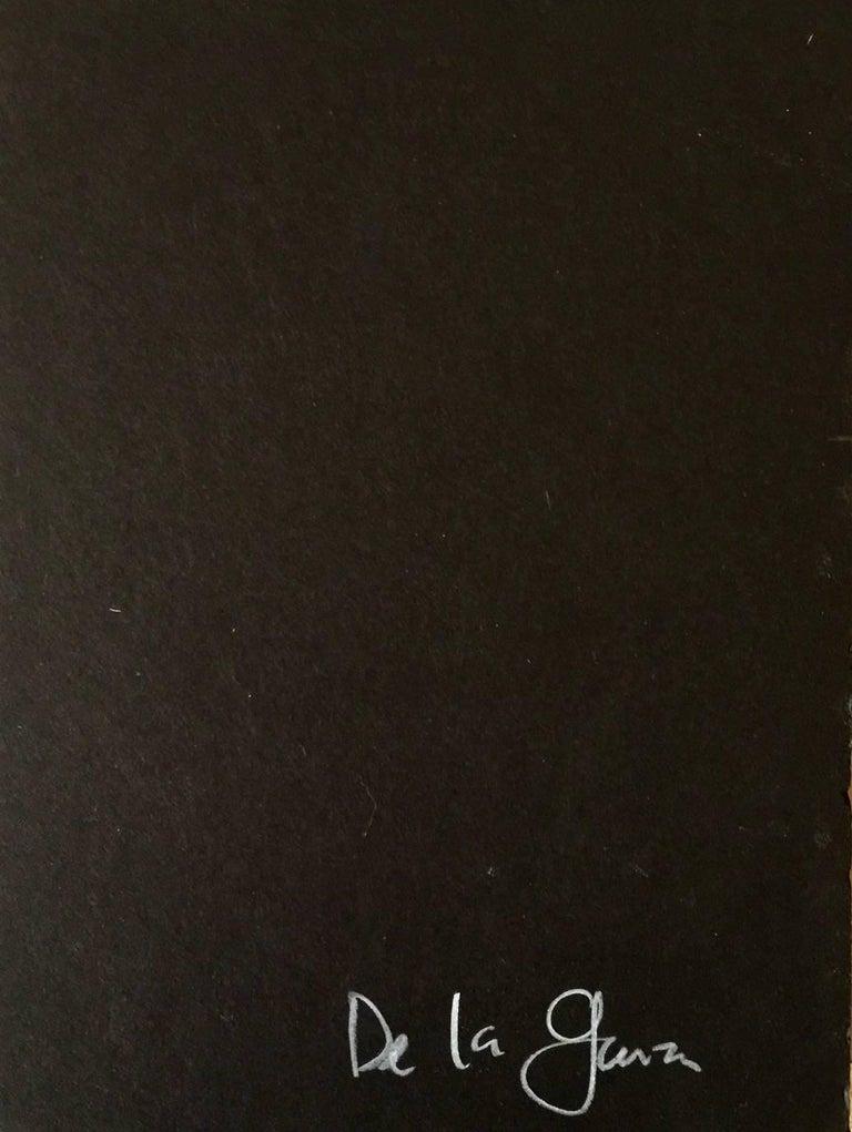117 From Horror Vacui II Series, Oil on Cotton on Cardboard - Contemporary Painting by Armando de la Garza