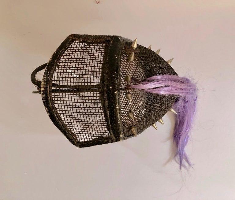 3.6 From La Filosofía en el Tocador, Fencing Mask  For Sale 1