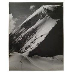"""Armando Salas Portugal Volcan """"Iztaccihuatl"""" 1944 Signed"""