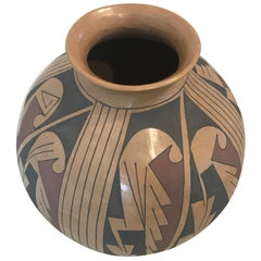 Armando Silveira 'Mata Ortiz, 20th Century' Pottery Jar