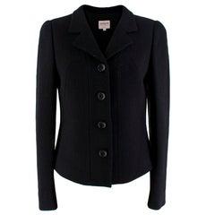 Armani Collezioni Black Button-Up Blazer - Size US2
