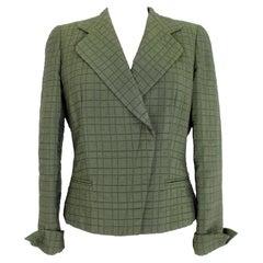 Armani Collezioni Green Quilt Jacket