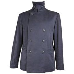 Armani Vintage Mens Blue Jacket