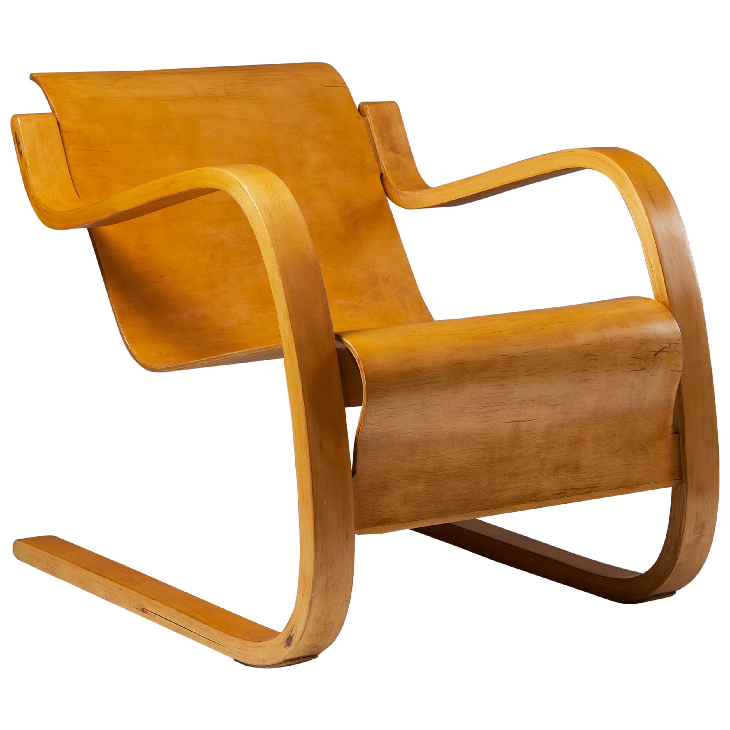 "Armchair 42 ""Little Paimio"" Designed by Alvar Aalto, Finland, 1931"