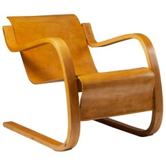 "Armchair 42 ""Little Paimio"" Designed by Alvar Aalto, Finland, 1931"