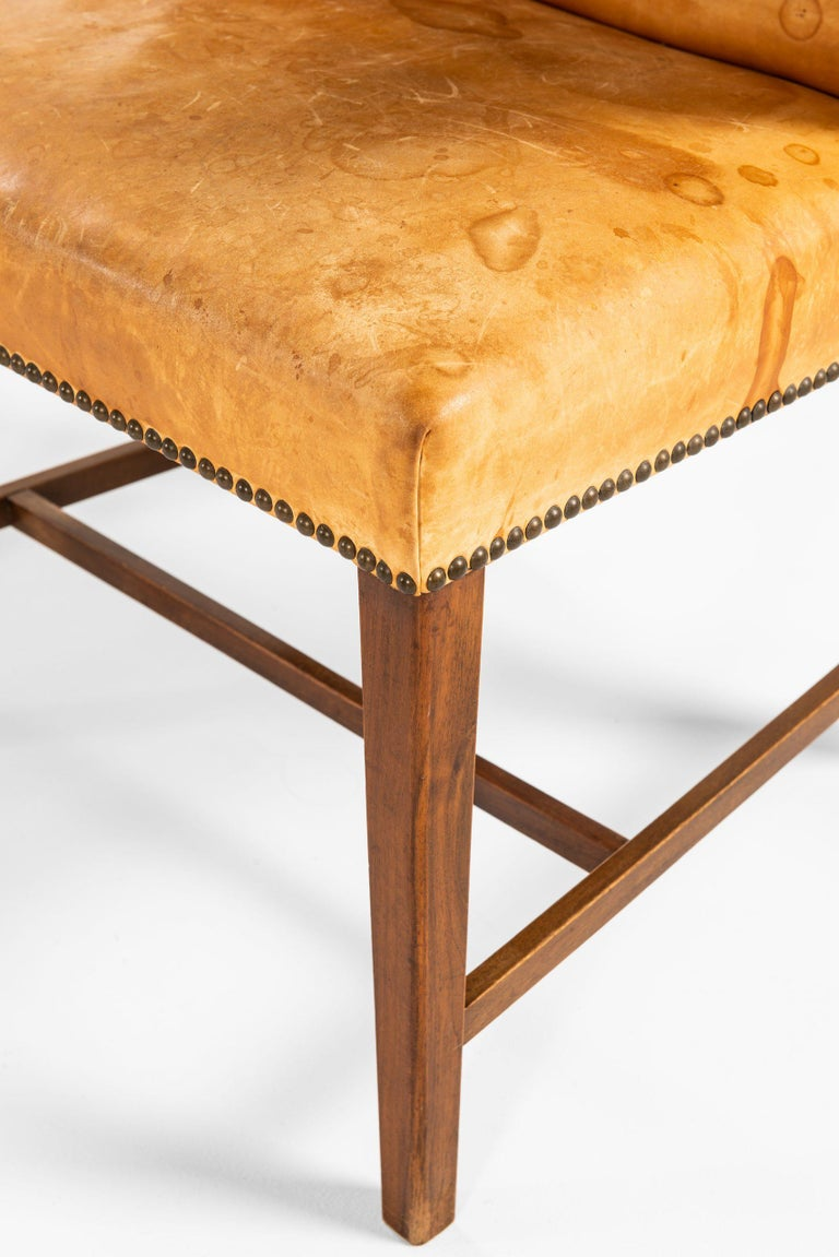 Danish Armchair Attributed to Frits Henningsen by cabinetmaker Frits Henningsen For Sale