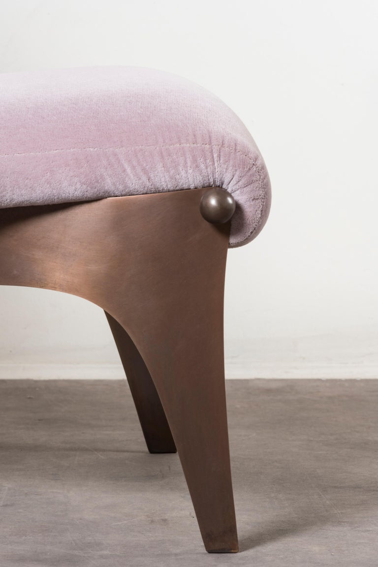 Bronze Armchair by Analogia Project For Sale