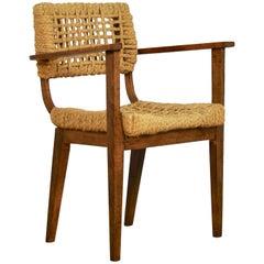 Armchair by Audoux Minet for Vibo Vesoul, 1950s