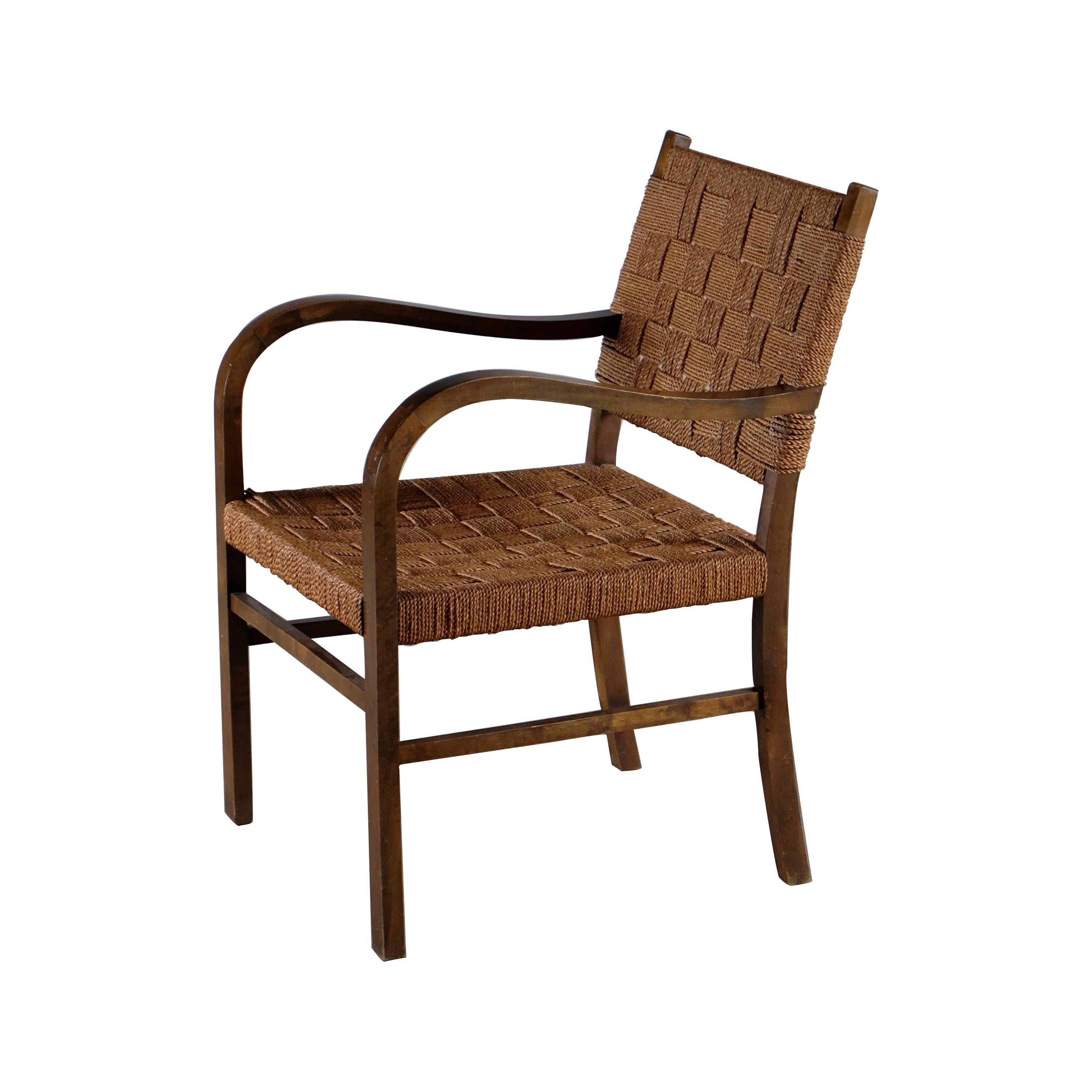 Armchair by Axel Larsson, Sweden, 1940s