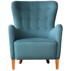 Armchair by Ernest Race, 1940s, England