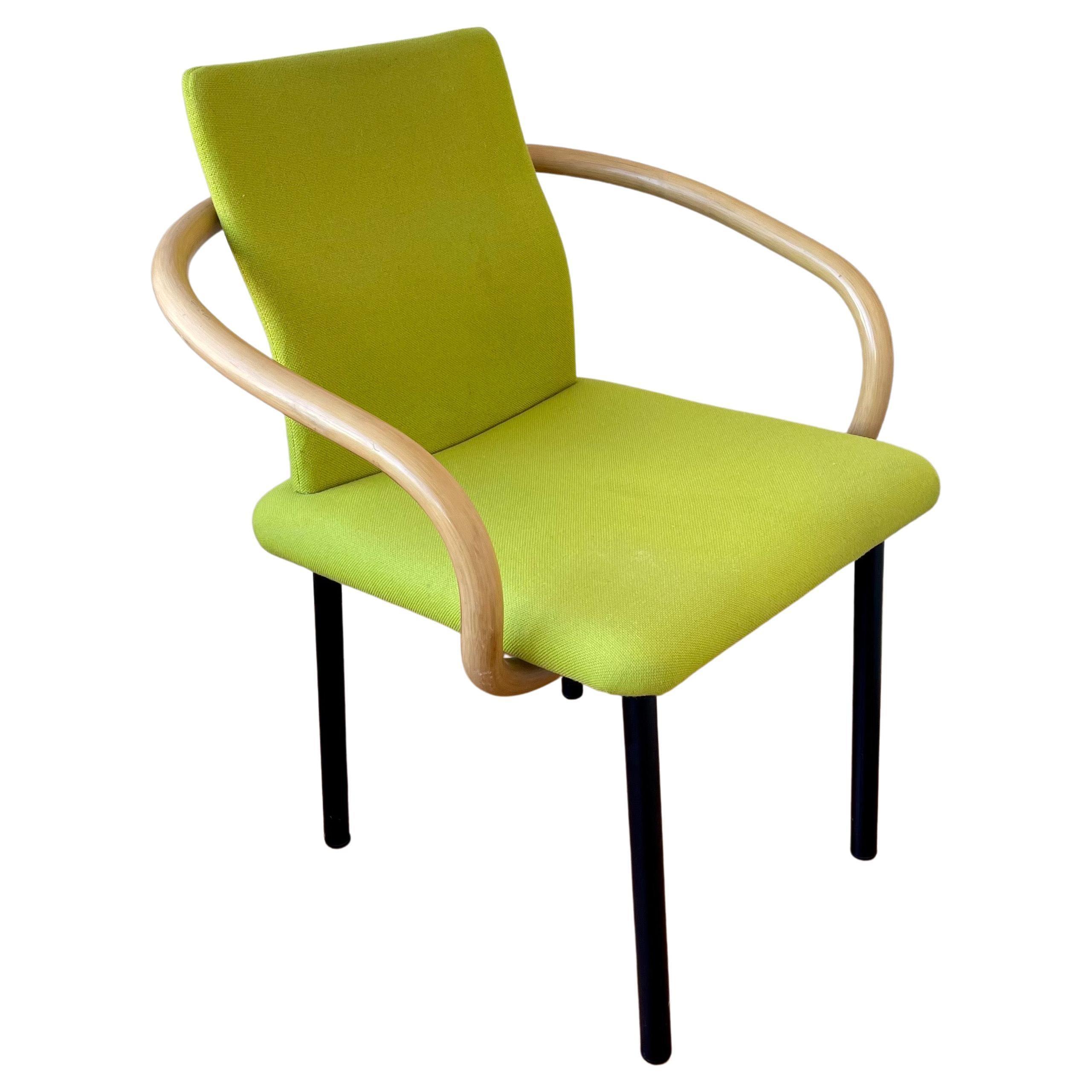 Armchair by Ettore Sottsass for Knoll Memphis Postmodern Era