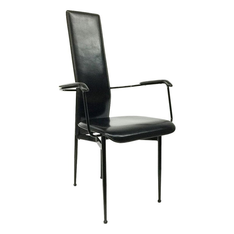 Armchair by Giancarlo Vegni and Gianfranco Gualtierotti for Fasem, Italy, 1980s For Sale