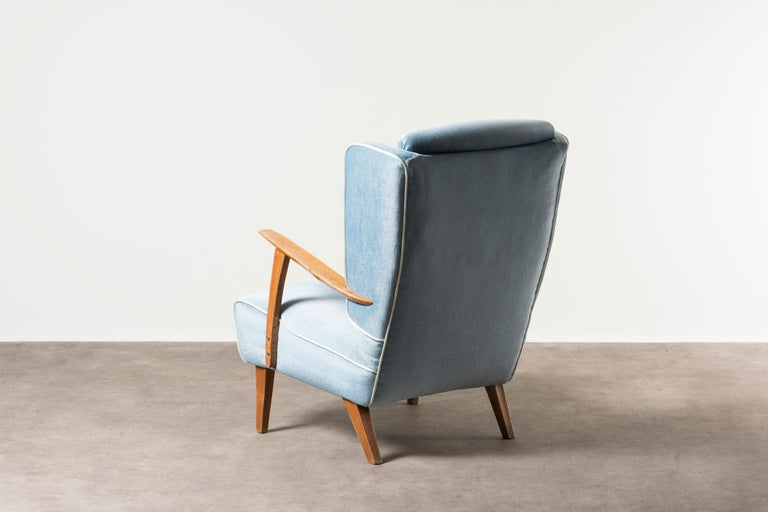 Italian Armchair by Gustavo Pulitzer Finali For Sale