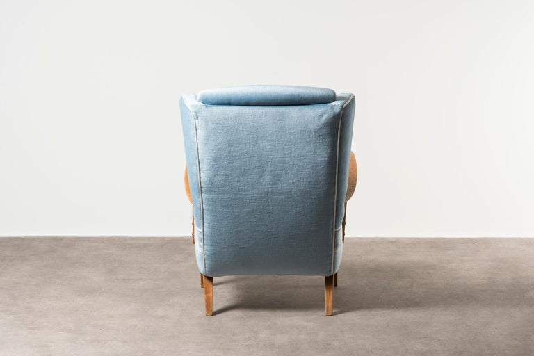 Armchair by Gustavo Pulitzer Finali In Good Condition For Sale In Milan, IT