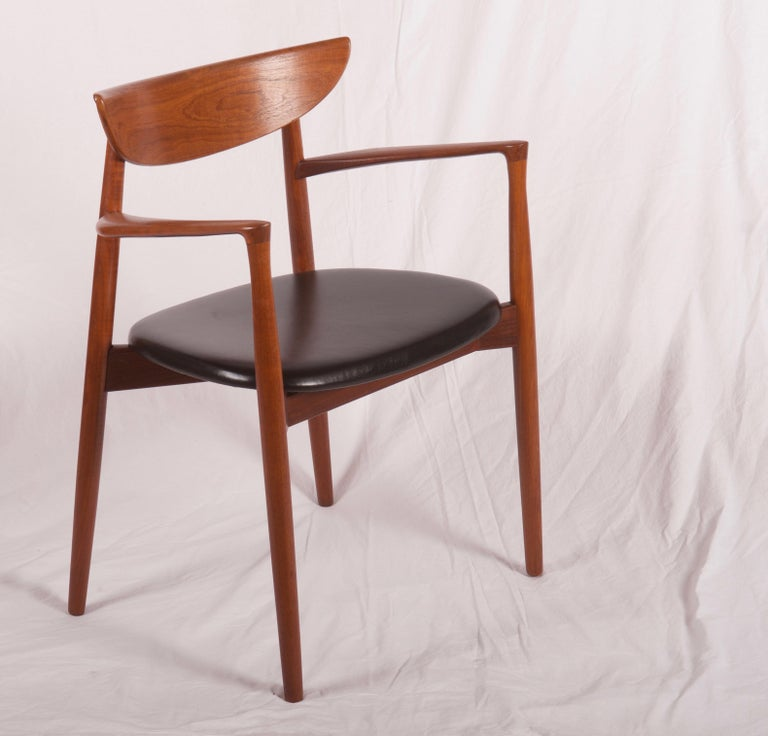 Armchair by Harry Østergaard, Denmark, Early 1960s For Sale 3