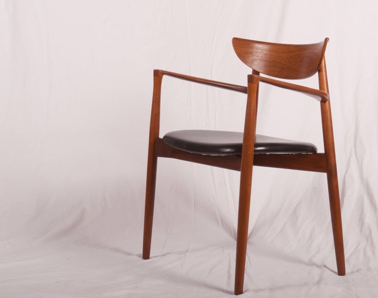 Danish Armchair by Harry Østergaard, Denmark, Early 1960s For Sale