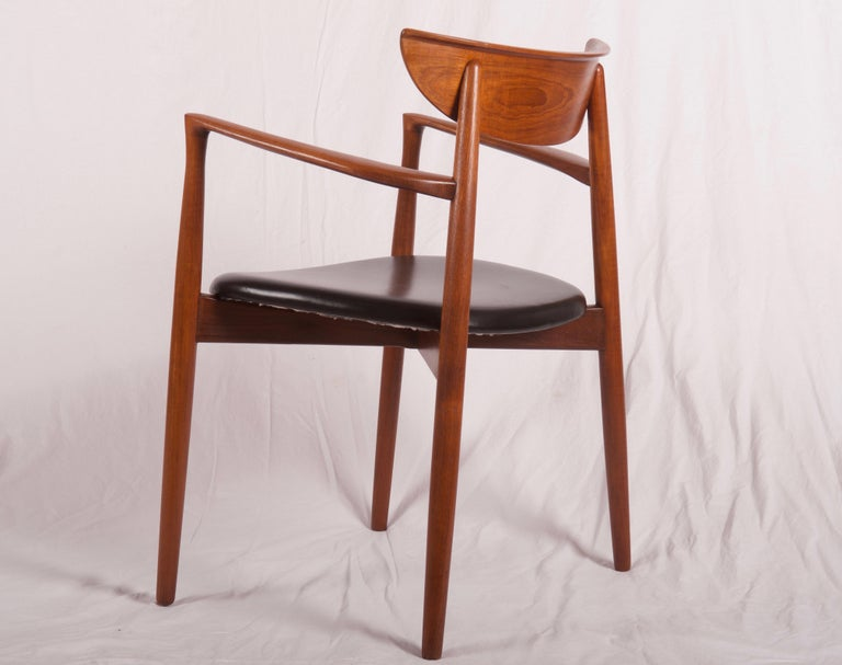 Armchair by Harry Østergaard, Denmark, Early 1960s In Excellent Condition For Sale In Vienna, AT